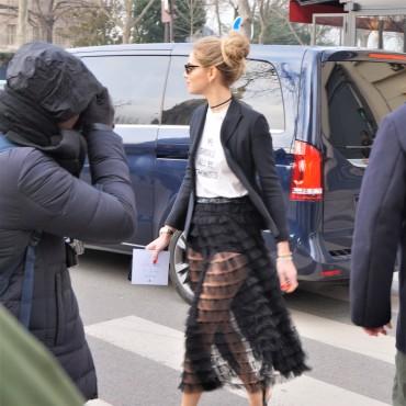Chiara Ferragni - Dior outfit