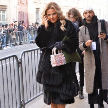 A guest - Lady Dior bag