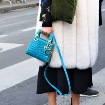 Turquoise Lady Dior