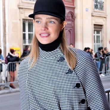 Natalia Vodianova - Dior outfit