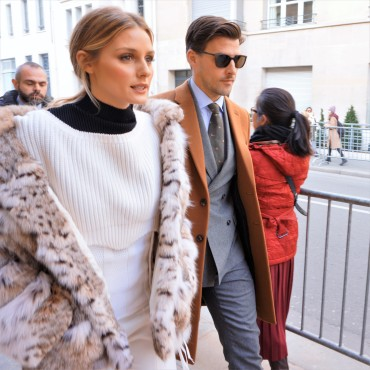 Olivia Palermo - Dior knitwear