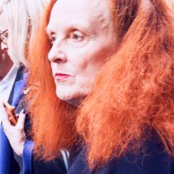 Grace Coddington [Dior]