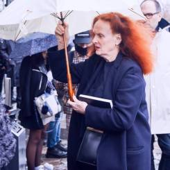 Grace Coddington [Balenciaga]