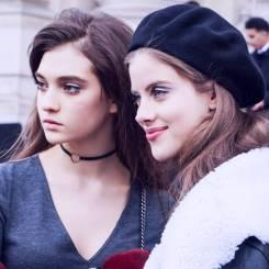 Ratner and Bara Podzimkova [Chanel]